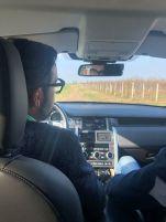 Corvezzo_Winery_in auto con Giovanni(4)